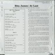 Back View : Etta James - AT LAST (LP) - Macomba Records / 00126365