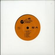 Back View : Fredfades - WARMTH BONUS EP (7 INCH) - KingUnderground / KU040