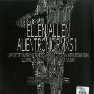Back View : Ellen Allien - ALIENTRONIC RMXS 1 - BPitch Control / BPX002