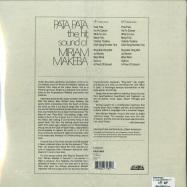 Back View : Miriam Makeba - PATA PATA (REMASTERED 2LP) - Strut / STRUTLP180 / 05179531