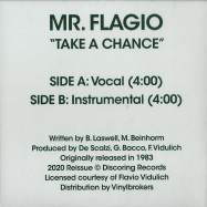 Back View : Mr.Flagio - TAKE A CHANCE (7 INCH) - Discoring Records / DR-002-7