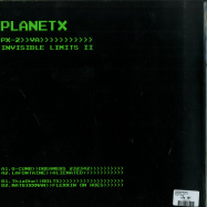 Back View : Various Artists - INVISIBLE LIMITS II - Planet X / PX002