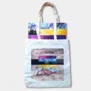 Back View : Rico Puestel - EXHIBITION 1/2/3 (3LP, INCL.CANVAS TOTE BAG+MP3) - Exhibition / XBITBUNDLE1