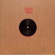 Back View : Fred Hush - OPEN YOUR EYES (RED VINYL) - SECRET002