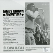 Back View : James Brown - SHOWTIME (LP) - Smash / mgs27054