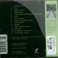Back View : Stefan Goldmann - LIVE AT HONEN - IN TEMPLE (CD) - Macro / MACROM33CD