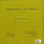 Back View : Rimini Sunset - DE TOMASO (THE REMIXES) - Lebensfreude / LFV55