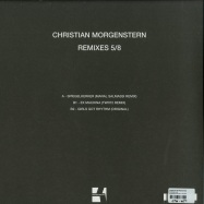 Back View : Christian Morgenstern - REMIXES 5/8 - Konsequent Records / KSQ 043