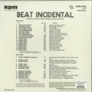 Back View : Alan Hawkshaw / Keith Mansfield - BEAT INCIDENTAL (LP, 180 G VINYL) (KPM RE-ISSUE) - Bewith Records / BEWITH060LP