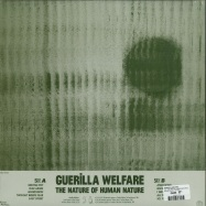 Back View : Guerilla Welfare - THE NATURE OF HUMAN NATURE (LP) - Musique Plastique / MP 005