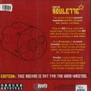Back View : DJ JS-1 - SCRATCH ROULETTE - Ground Original / js010