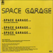 Back View : Space Garage - SPACE GARAGE (REISSUE)(12 INCH) - Periodica Records / PRD1015