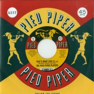 Back View : September Jones / The Pied Piper Players - CHINK A CHANK BABY / THATS WHAT LOVE IS (7 INCH) - Ace Records / PIPER 013