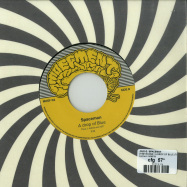 Back View : Loud-e / Spaceman - OHNE BOONE / A DROP OF BLUE (THEE J JOHANZ EXT EDIT) (7 INCH) - Moefment / MOEF02