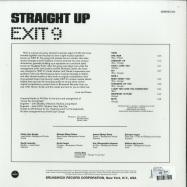 Back View : Exit 9 - STRAIGHT UP (180G LP) - Demon / DEMREC402