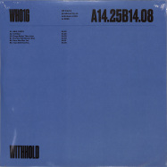 Back View : Unknown Artist - WH016 - Withhold / WITHHOLD016