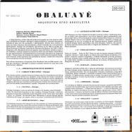 Back View : Orqestra Afro Brasileira - OBALUAYE (LTD 10 INCH LP) - Day Dreamer / DD001 / 05212611
