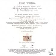 Back View : Klee - BERGE VERSETZEN (OLIVER KOLETZKI MIXES) - Island / isl1788270