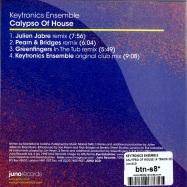Back View : Keytronics Ensemble - CALYPSO OF HOUSE (4 TRACK CD) - Juno2CD