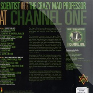 Back View : Various Artists - SCIENTIST MEETS THE CRAZY MAD PROFESSOR AT CHANNEL ONE - Jamaican Recordings / jrlp041