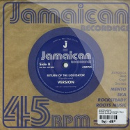 Back View : Winston Wright - RETURN OF THE LIQUIDATOR (7 INCH) - Jamaican Recordings / jr7008