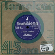 Back View : Dillinger / King Tubby & The Aggrovators - JAH JAH DUB / A SOCIAL VERSION (7 INCH) - Jamaican Recordings / jr7014