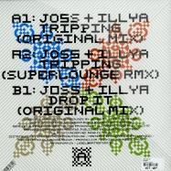Back View : Joss & Illya - TRIPPING (SUPERLOUNGE REMIX) - Artreform  / arr002