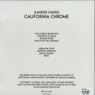 Back View : Xander Harris - CALIFORNIA CHROME (LP + MP3) - Rock Action / ROCKACT103LP / 39140971
