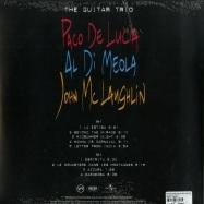 Back View : Paco De Lucía & Al Di Meola & John McLaughlin - THE GUITAR TRIO (LP) - Universal / 5383225