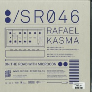 Back View : Rafael Kasma - ON THE ROAD WITH MICRON - Sirion Records / SR046