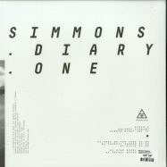 Back View : Rolando Simmons - SUMMER DIARY ONE EP - Analogical Force / AF019.1