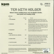 Back View : Smith & Mudd - TEA WITH HOLGER (KPM) (LP) - Be With Records / BEWITH070LP