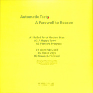 Back View : Automatic Tasty - A FAREWELL TO REASON - Wrong Island / COMMUNICATION7