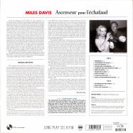 Back View : Miles Davis - ASCENSEUR POUR LECHAFAUD (180G LP) - Pan-Am Records / 9152306