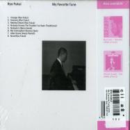 Back View : Ryo Fukui - My Favorite Tune (CD) - We Release Jazz / WRJ011CD