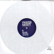 Back View : Crystal Method / Twisted Society - CHERRY TWIST / KILLER - Crystal001