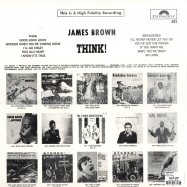 Back View : James Brown - THINK! (LP) - Polydor / PD683