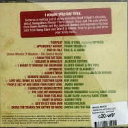 Back View : Various Artists - I KNOW YOU GOT SOUL (CD) - Spectrum Music / spec2106
