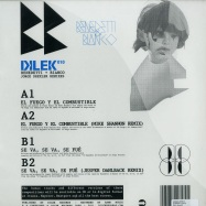 Back View : Various Artists - DILEKPACK 1 (WHITE / RED / YELLOW 3X12) - Dilek / dlkpack01