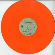 Back View : Techno Bert - NEUE DIMENSIONEN (COLOURED VINYL) - Mannequin / MNQ 094