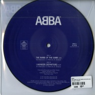 Back View : ABBA - THE NAME OF THE GAME (7 INCH PICTURE DISC) - Universal / 5762517