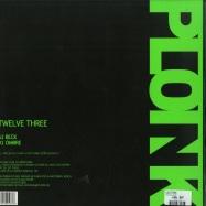 Back View : +plattform - TWELVE THREE - Ploink / Ploink018.3