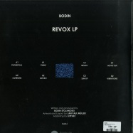 Back View : Bodin - Revox (2x12, Vinyl Only) - Traffic / Traffic014