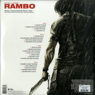 Back View : Brian Tyler - RAMBO O.S.T. (CAMOUFLAGE SPLATTER 2LP) - Silva Screen / SILLP1260 / 00112161