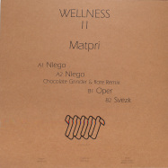 Back View : Matpri - WELLNESS II (VINYL ONLY) - Wellness Records / WLNS002