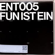 Back View : Adorno - FUN IST EIN STAHLBAD (LTD CLEAR 2LP) - Entkunstung / ENT005