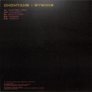 Back View : Chontane - BYGONE - VOLTAGE IMPRINT / VOLT007