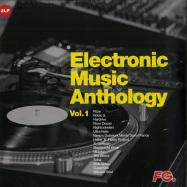 Back View : Various Artists - ELECTRONIC MUSIC ANTHOLOGY 01 (LP, VINYL 1) - Wagram / 3370066 / 05181881