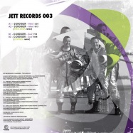 Back View : D. Diggler - TWO MINDS EP - Jett Records / Jett003