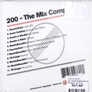 Back View : Various Artists - 200 - THE MIX COMPILATION (CD) - 200 Records / 200 CD 001